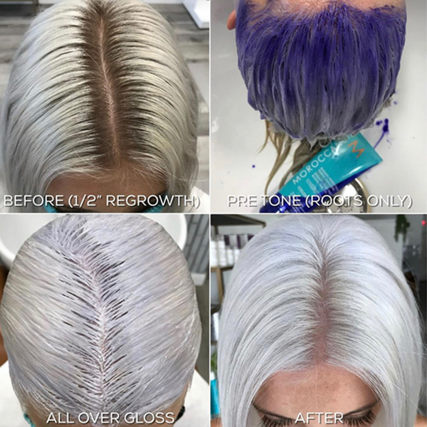 Platinum Bleach Outs Blonde Tips For Lightening Toning and Gloss @hairbychrissydanielle