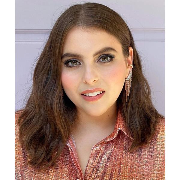 2021 emmy awards emmys red carpet celebrity hair beanie feldstein
