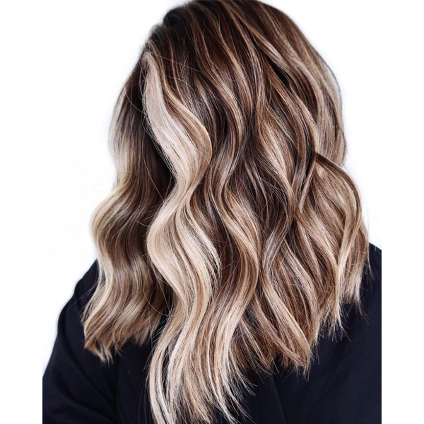 fall 2021 hair color trends bronde