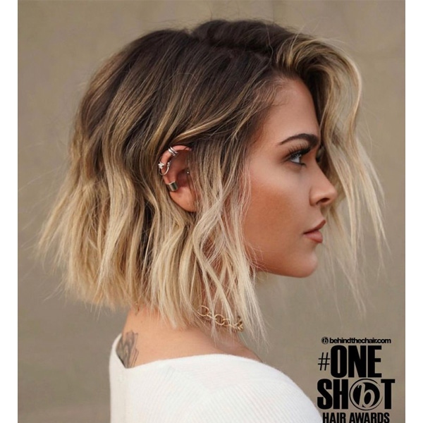 fall 2021 hair color trends rooty blonde balayage