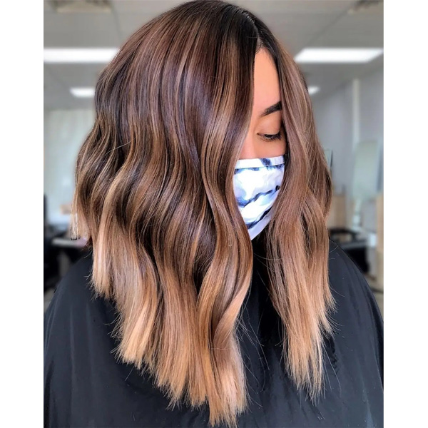 fall 2021 hair color trends warm balayage PSL hair