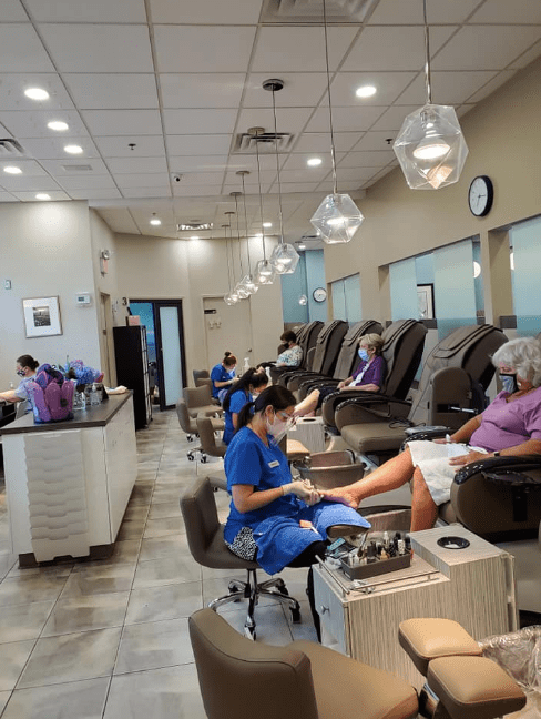 Manicurist job opening at 2 very BUSY high-end nail salons in Bethesda/Samantha 202.258.2697