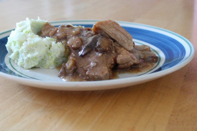 pork roast and gravy
