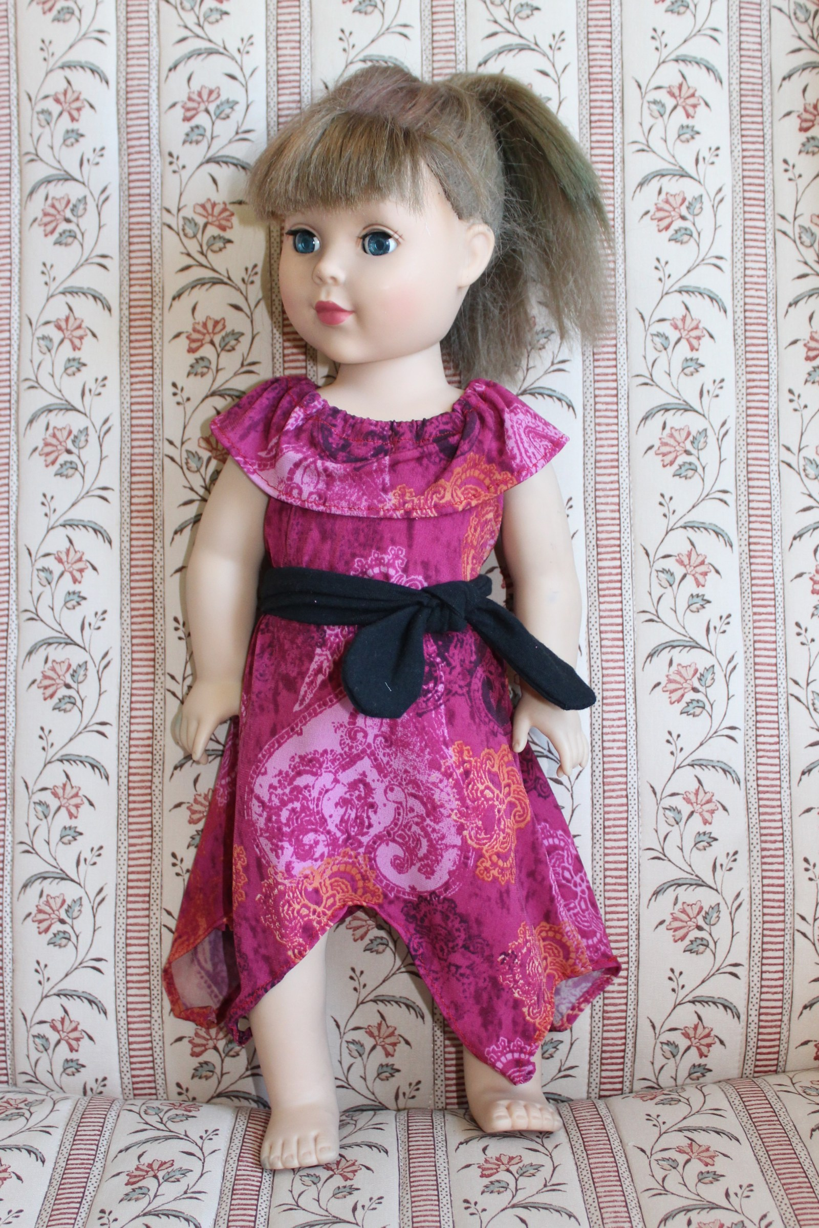 18 inch doll dress pattern