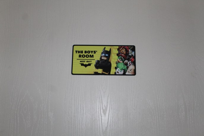 lego door sign
