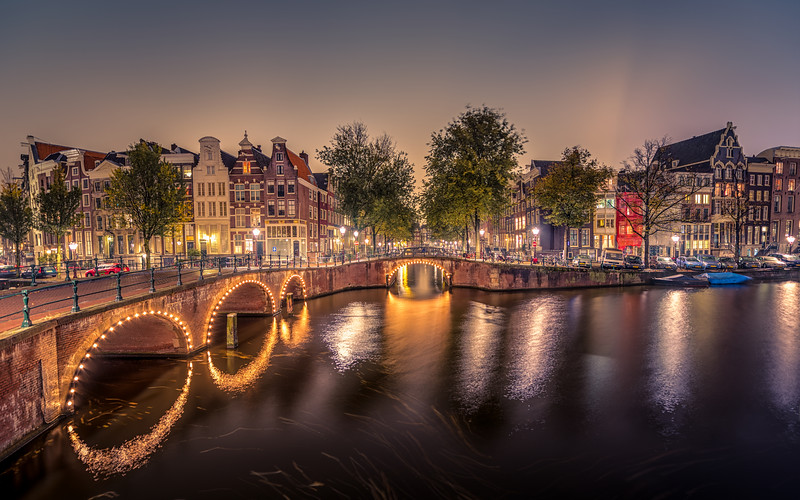 10 Amazing Views Of Amsterdam By Night Behind The Lenscap
