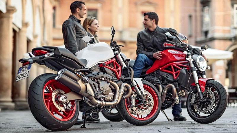 2016 Ducati Monster Lineup