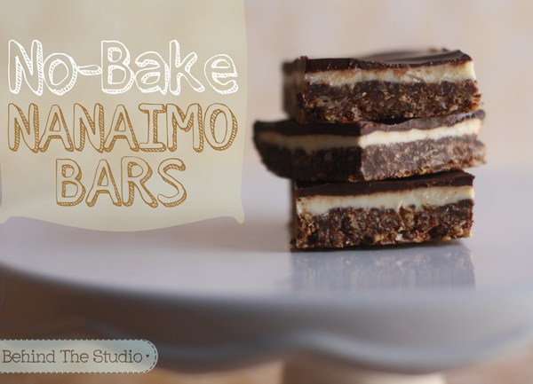 How to make Nanaimo Bars |http://www.behindthestudio.com|