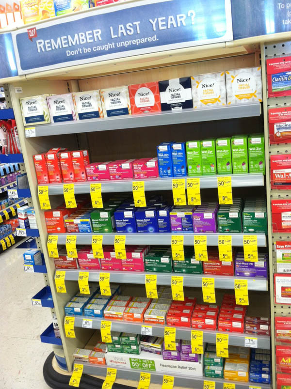 Keeping well with Walgreens this allergy season #WellAtWalgreens #cbias #shop