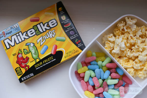 Mike and Ike Zours® Candies for the best movie snacks ever! #ZoursFace #Cbias #Shop