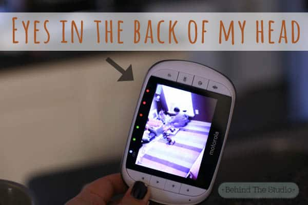 Eyes in the back of my head with #MotorolaBabyMonitor #CleverGirls #ad