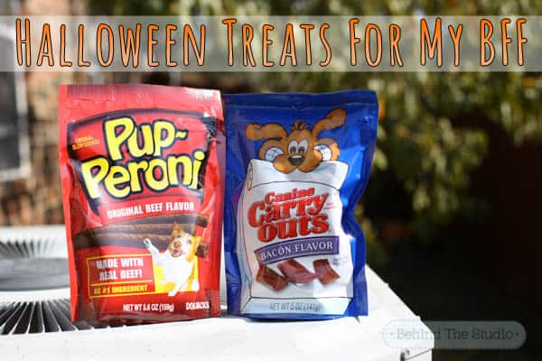 Pupperoni Dog Treats and Canine Carryouts for Halloween Treats #TruMooTreats milk #shop