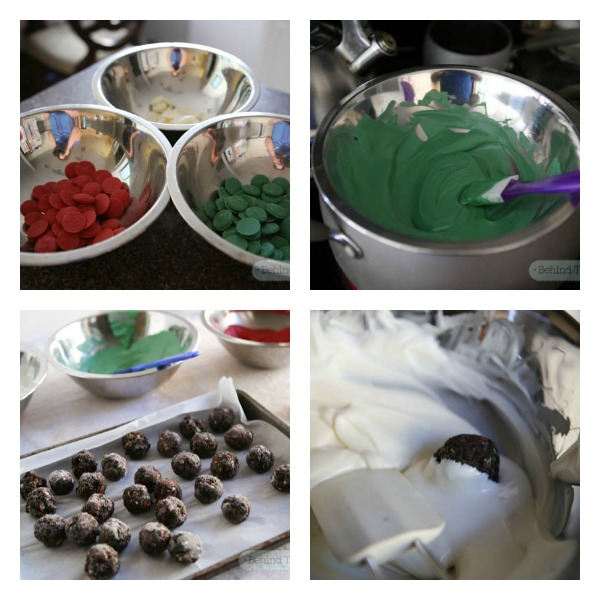 Making the holidays fun and festive with OREO cookie balls - #OREOCookieBalls #Cbias #shop