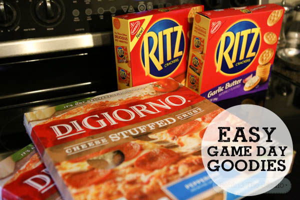 Game Day goodies with DiGiorno® Pepperoni STUFFED CRUST® Pizza #PreparetoParty #cbias #ad
