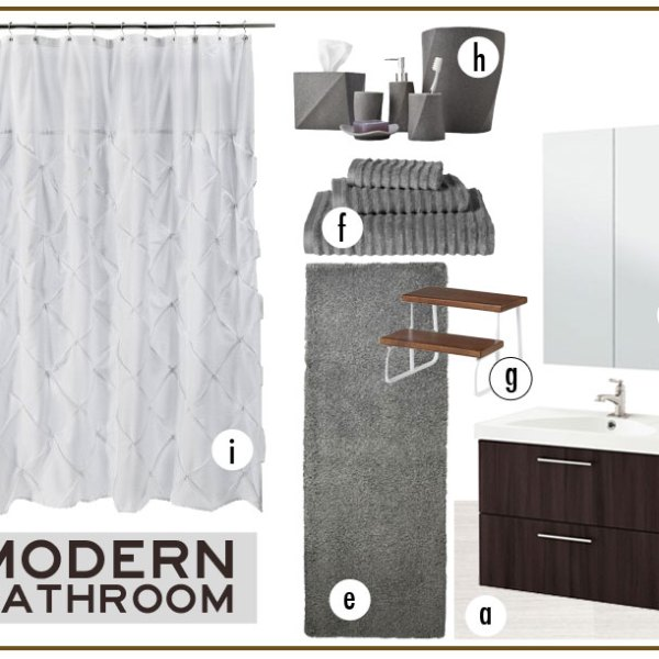 Creating my dream bathroom with help from Carpet One - #InspiredHome #ad