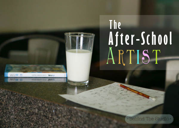 The After-School Artist #MilkLife #sponsored