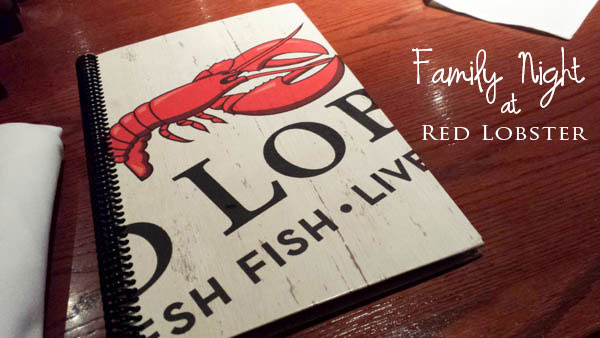 red lobster family night