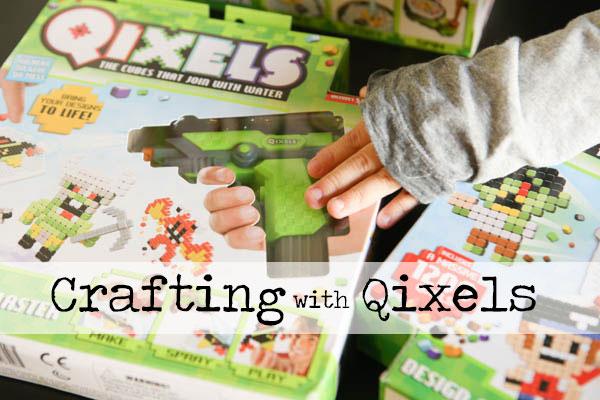 Fun crafting with Qixels - #QixelsWorld #CG #AD