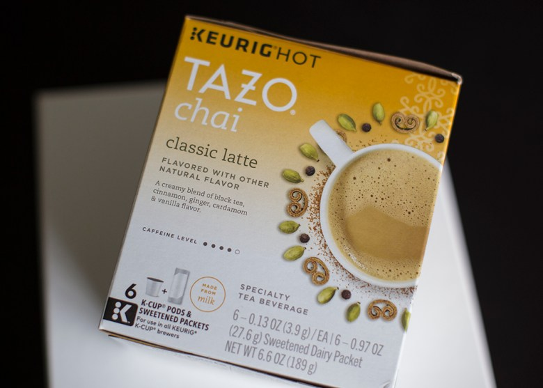 TAZO® Tea: Sweet meets spicy! - #SweetMeetsSpicy #ChaiLatte, #KCup #ad #IC