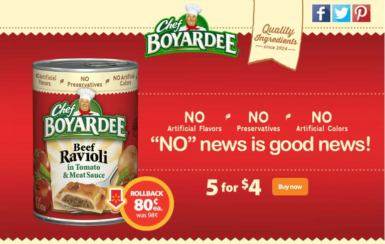 Enjoy back to school savings with Chef Boyardee on rollback at Walmart #AD #SaveOnChef