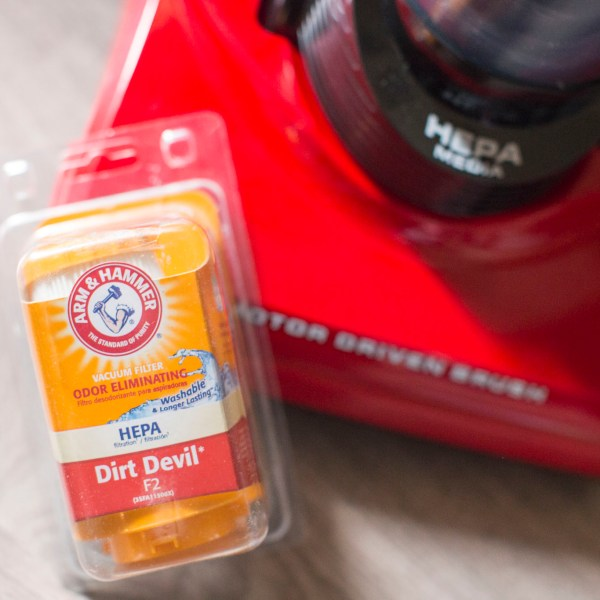 Dirt Devil & Arm and Hammer filter vacuum