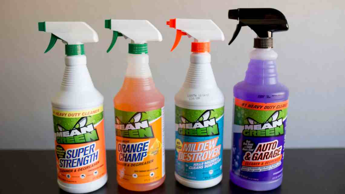 Spring Cleaning with Mean Clean Cleaner