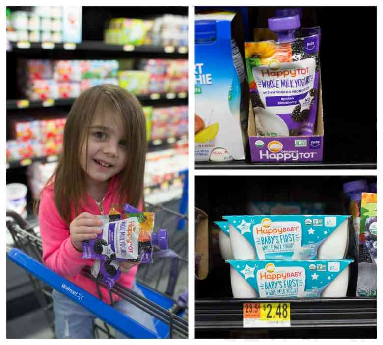 Happy Family Yogurt at Walmart - #ThisIsHappy #AD