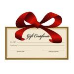 gift certificates online