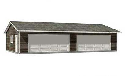 4 Car Garage Plans Ready To Use Pdf Garage Plans