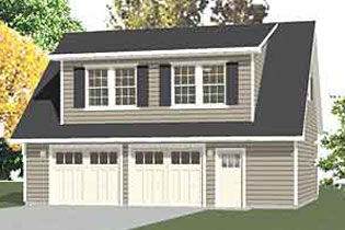 Carriage House Style Garages