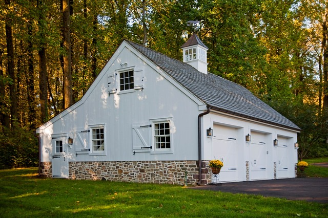 Colonial Style Garage Plans