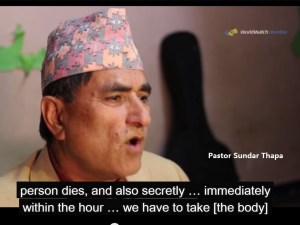 Sundar Thapa 牧師