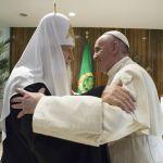 羅馬天主教教宗與俄羅斯正教主教長在古巴相會(漁夫)2016.02.14