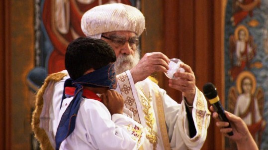 Coptic Communion
