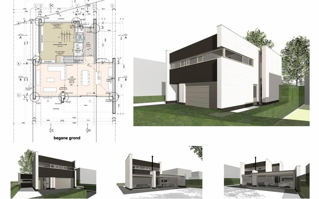 nieuwbouw woning te Son en Breugel
