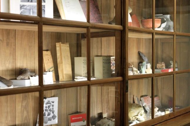 Archeologisch museum Velzeke - binnen - collectie - 20 depot open2