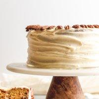 Southern Mayonnaise Carrot Cake