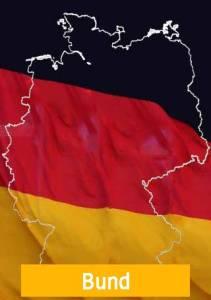 Deutschland Karte Flagge Beihilfe Bund