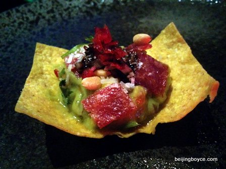 Q Mex Marcus Medina ceviche fritters causa tacos carnitas and more Beijing China