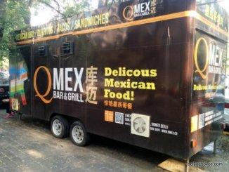 q mex food truck  beijing china