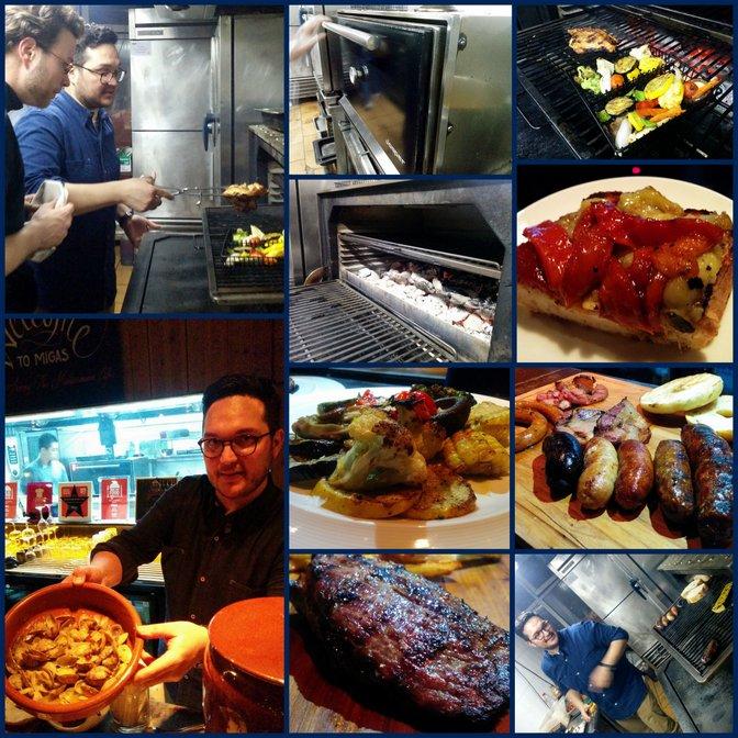 josper oven at migas with edu gutierrez beijing china