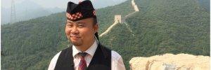 George Tian, Chinese Bagpiper