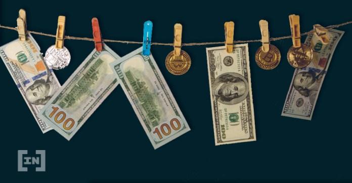 Bitcoin BTC Dollar Launder
