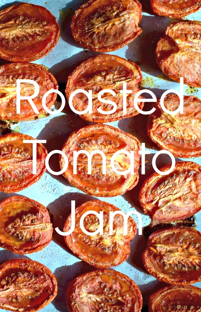 Roasted Tomato Jam | This super easy recipe is my healthy replacement for ketchup! Once you make it you'll be putting it on everything from savory waffles to sweet potato fries. [gluten free, vegan, paleo]