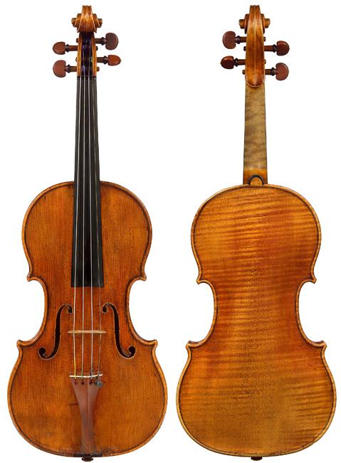 1683-S3929-1vn Stradivari, Antonio, ex Cobbett
