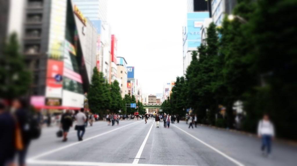 歩行者天国@秋葉原 photo by 茶子(ちゃこ)