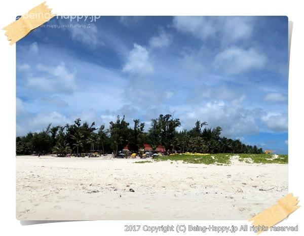 マニャガハ島へ着いた瞬間の感動した気持ちの思い出写真