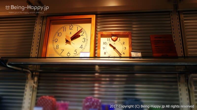 長野のKIKORI(キコリ)の時計@丸善 池袋(MARUZEN) photo by 茶子(ちゃこ)