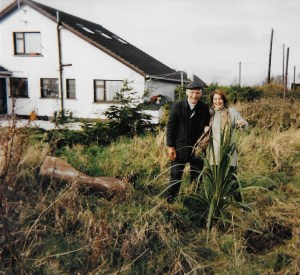 dad-and-myself-planting-the-money-tree-at-our-cottage-in-county-wexford-circa-1998