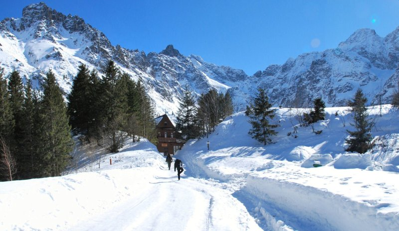 Zakopane, Poland in winter